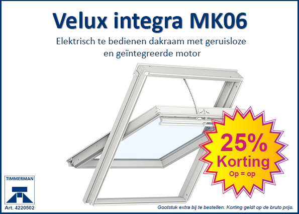 velux integra mk06 nu met 25 korting timmerman alkmaar. Black Bedroom Furniture Sets. Home Design Ideas