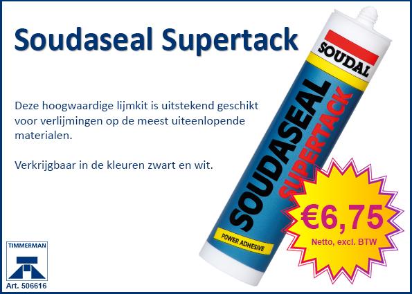 Soudaseal Supertack lijmkit