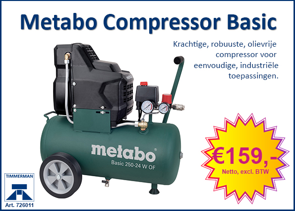 Metabo Compressor Basic 250-24 W OF