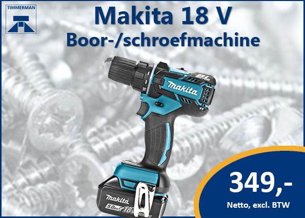 Makita boor-/schroefmachine