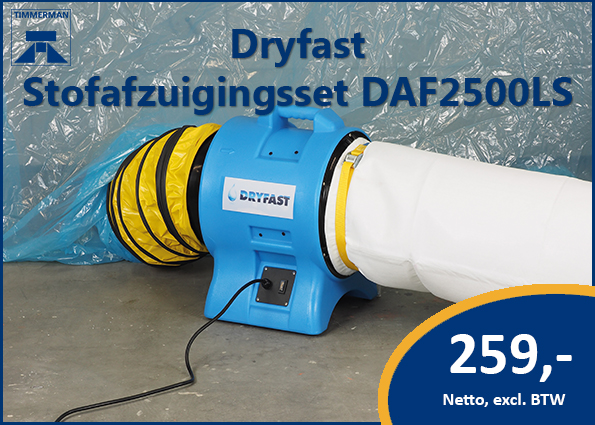 Dryfast Stofafzuigingsset DAF2500LS