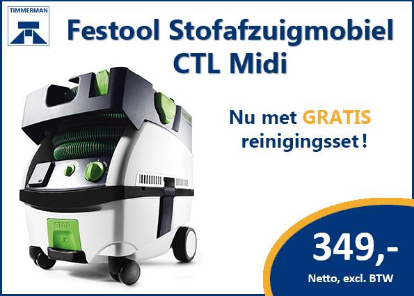 Festool Stofafzuigmobiel CTL MIDI