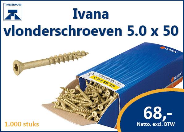 Ivana vlonderschroeven 5.0 x 50