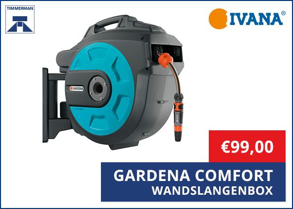 Gardena Comfort Wandslangenbox Tuinslag 25 meter