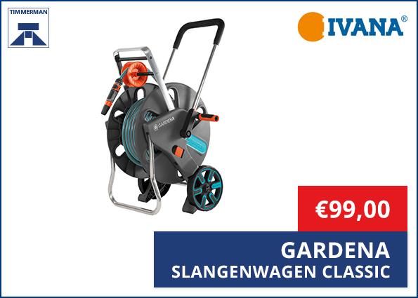 Gardena Slangenwagen Classic 100 HG