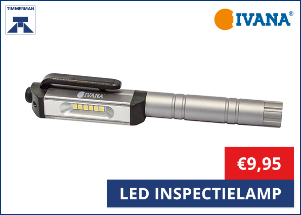 Ivana Led Inspectielamp