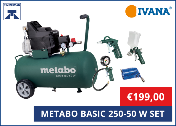 Metabo Basic 250-50 W SET