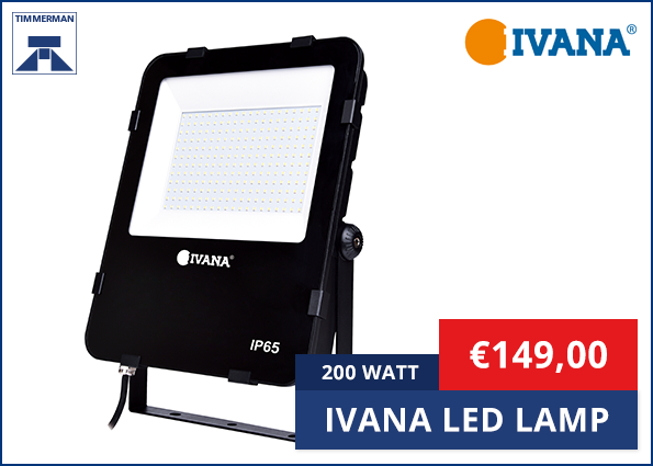 Ivana Led Lamp 200 Watt