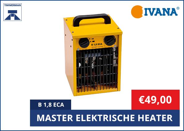 Master Elektrische Heater B 1,8, 3 of 5 ECA