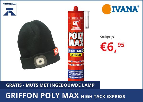 Griffon Poly Max High Tack Express