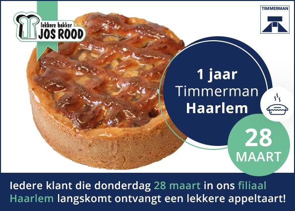 1 jaar Timmerman Haarlem