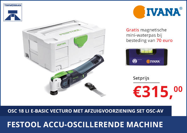 Festool accu-oscillerende machine