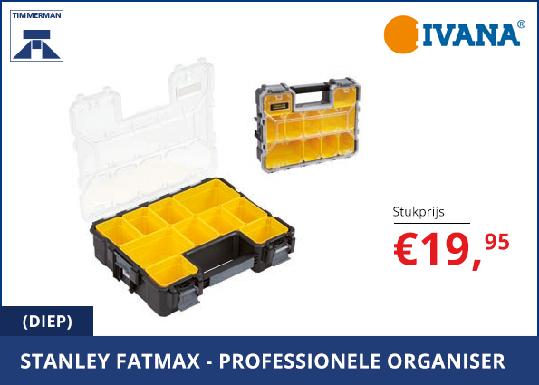 Stanly Fatmax professionele organiser (diep)