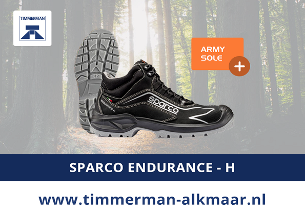 Exclusief bij Timmerman: De Sparco Endurance – H