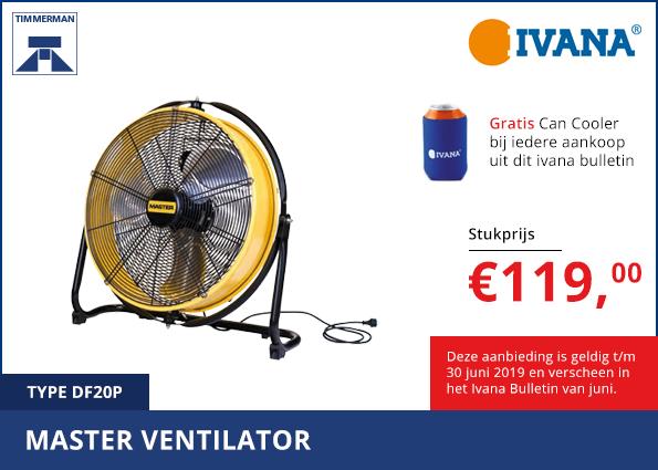 Master ventilator