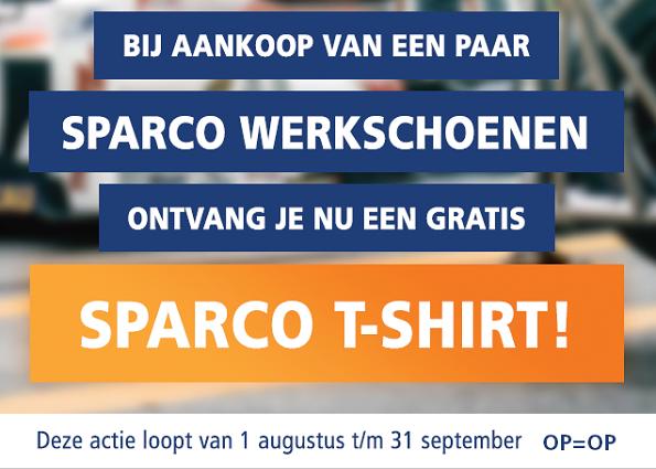 Gratis Sparco T-shirt