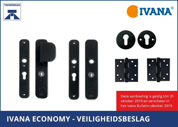 Ivana Economy Veiligheidsbeslag Zwart