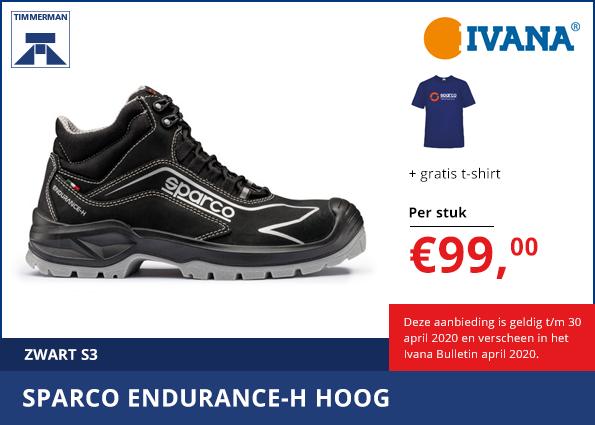 Sparco Endurance-H Hoog