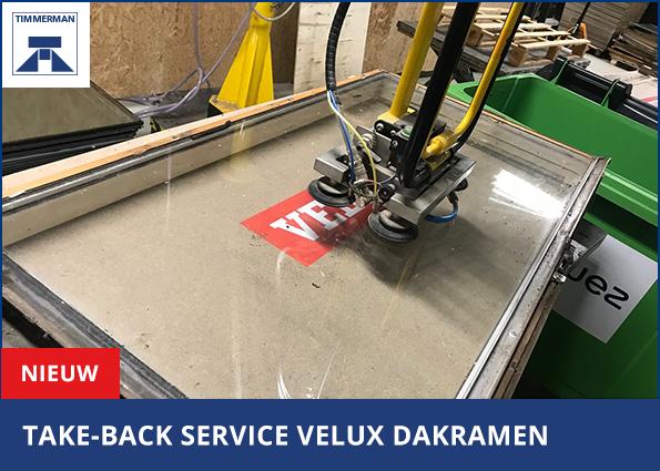 Nieuw: Take-back service VELUX dakramen