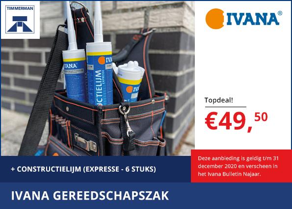 TOPDEAL: Ivana Gereedschapszak en Constructielijm