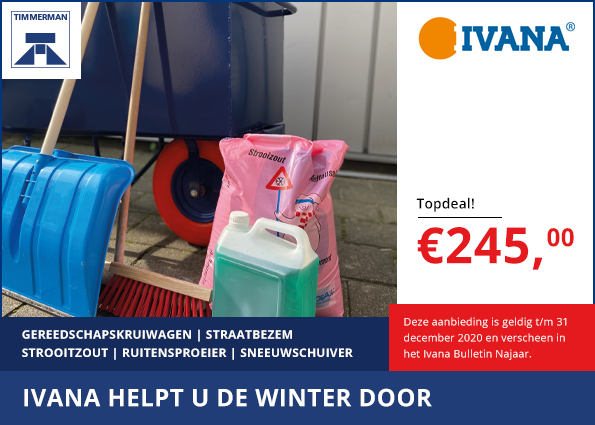 Ivana helpt u de winter door