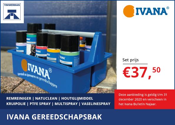 Ivana gereedschapsbak set