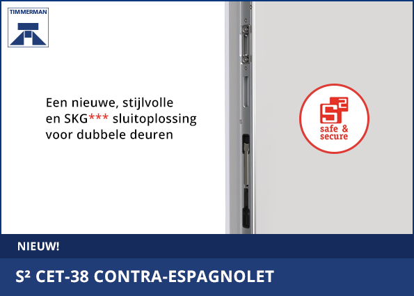 Nieuw! | S² CET-38 contra-espagnolet