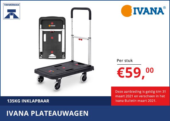 Nieuw: Ivana Plateauwagen