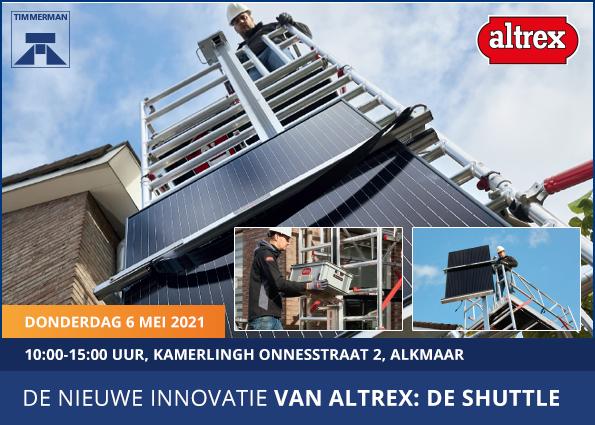 Altrex demodag: 6 mei bij Timmerman Alkmaar