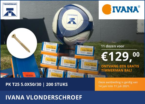 EK actie: Ivana Vlonderschroef