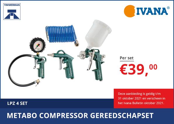 Compressor gereedschap set